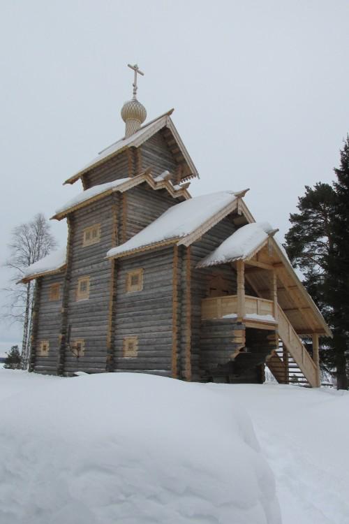 Церковь Троицы Живоначальной, Юрьева гора