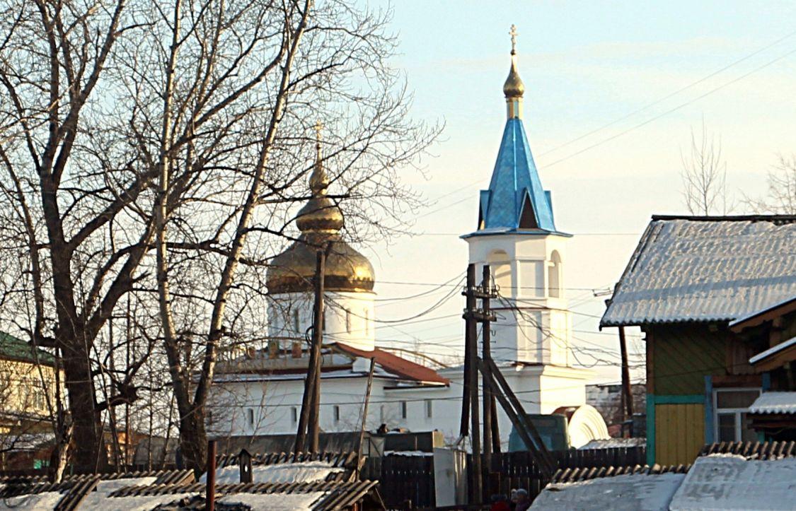 Забайкальский край, Могочинский район, Ксеньевка. Церковь Пантелеимона Целителя, фотография. фасады