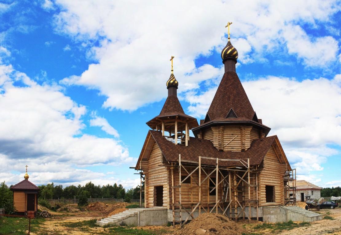 Церковь Серафима Саровского (строящаяся), Бобруйск