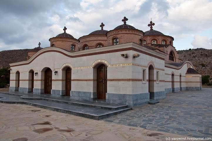 Монастырь Иоанна Богослова, Анополи