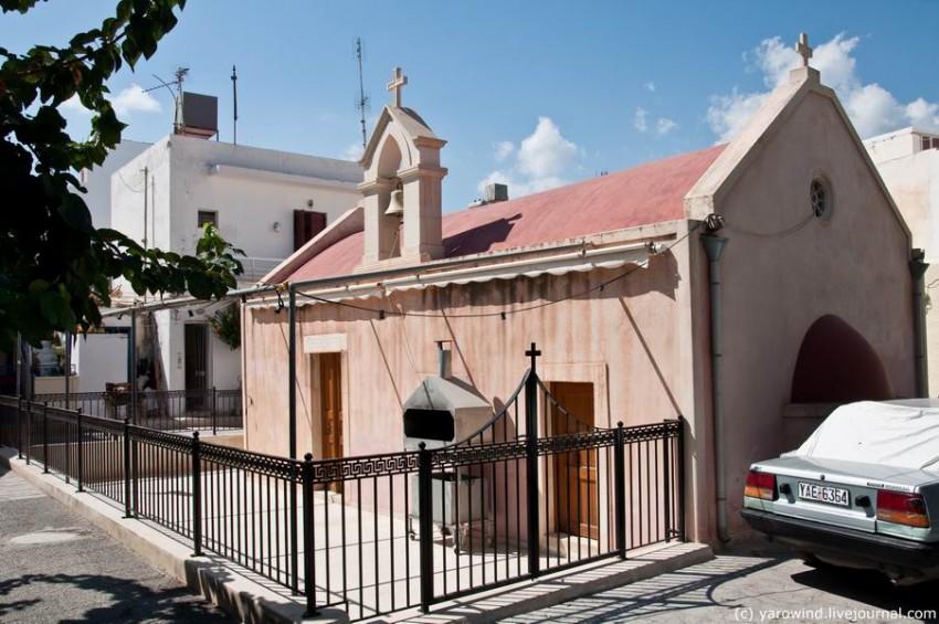 Церковь Николая Чудотворца, Иерапетра