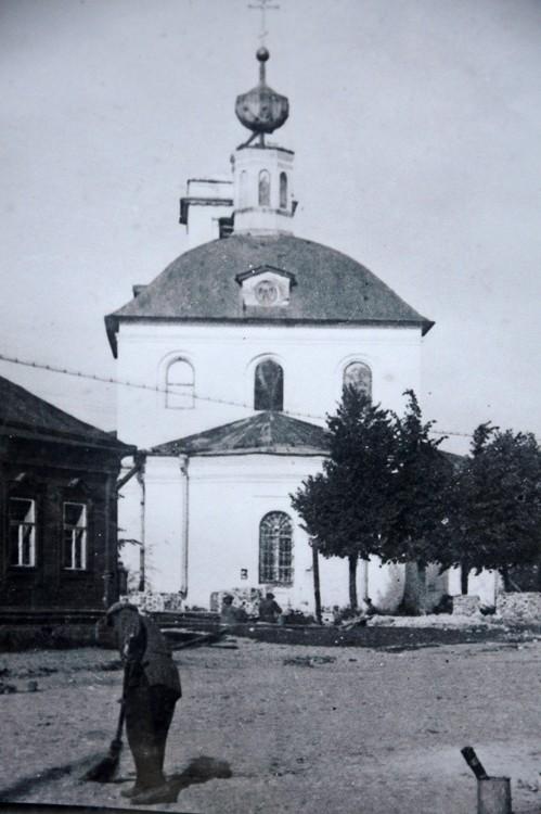 Церковь Вознесения Господня (старая), Звенигород