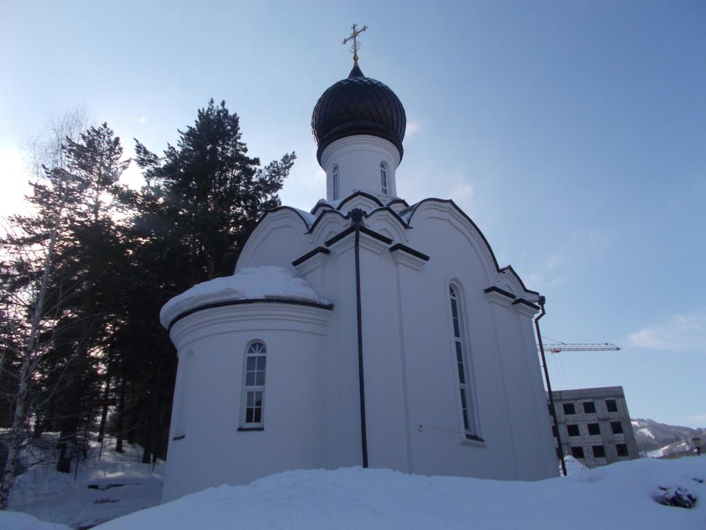 фото старой церкви в г белокуриха другой стороны