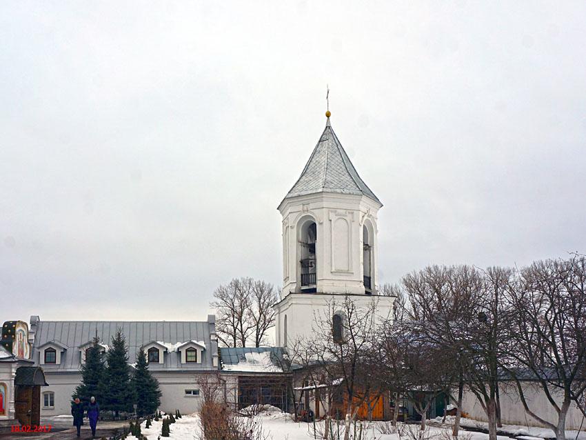 Беларусь, Могилёвская область, Могилёв, город, Могилёв. Никольский монастырь. Колокольня, фотография. фасады