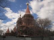 Церковь Всех Святых - Филёвский парк - Западный административный округ (ЗАО) - г. Москва