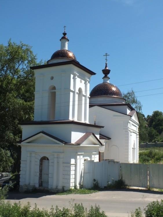 Калужская область, Малоярославецкий район, Малоярославец. Церковь Спиридона Тримифунтского, фотография.