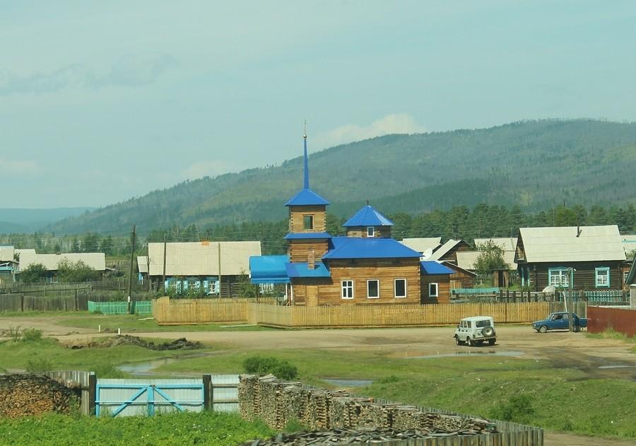 Церковь Андрея Первозванного, Харагун