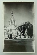 Усвяты. Спаса Преображения (старая), церковь