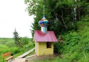 Часовня Пантелеимона Целителя, на источнике - Ношуль - Прилузский район - Республика Коми