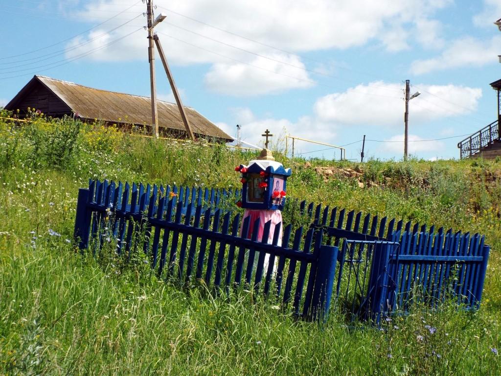Республика Татарстан, Менделеевский район, Старое Гришкино. Часовенный столб (западный), фотография. фасады