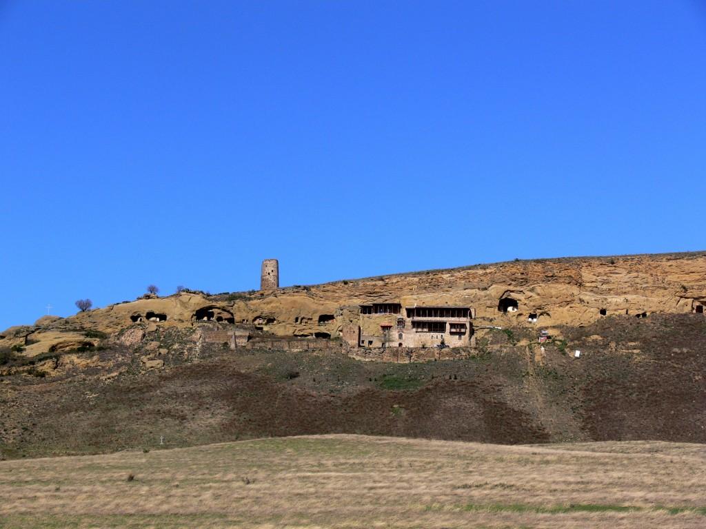 Иоанно-Предтеченский монастырь, Гареджи, хребет