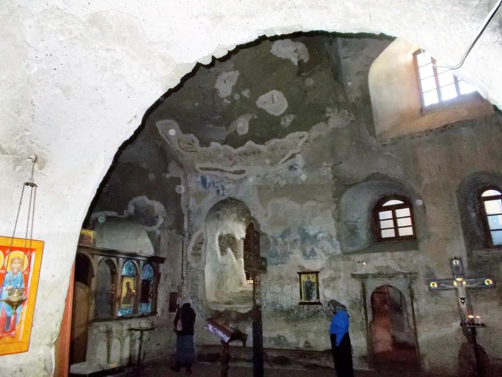 Иоанно-Предтеченский монастырь. Церковь Иоанна Предтечи, Гареджи, хребет