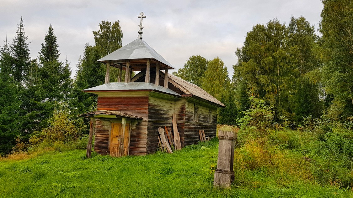 Часовня Николая Чудотворца, Давыдково (Чудово)