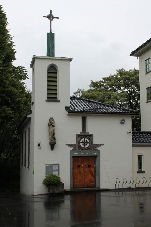Прочие страны, Норвегия, Берген. Церковь Богоявления Господня, фотография. фасады