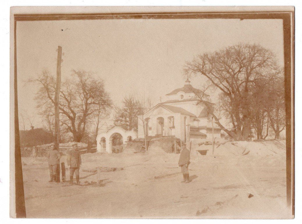 Церковь Михаила Архангела, Кисилин
