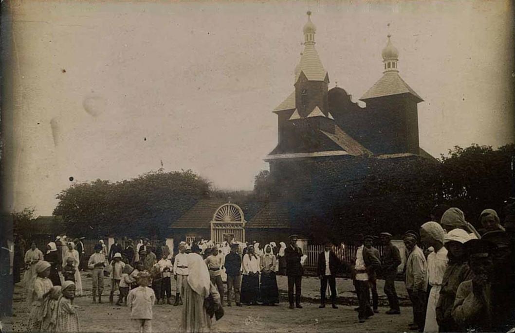 Церковь Спаса Преображения (старая), Бочейково