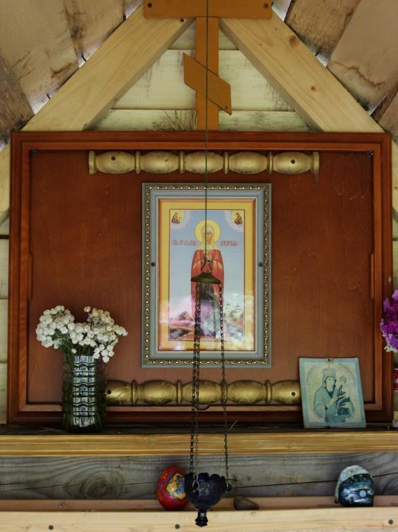 Владимирская область, Кольчугинский район, Снегирёво. Неизвестная часовня, фотография. интерьер и убранство