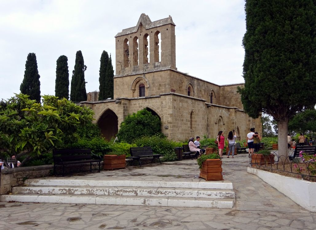 Кипр, Гирне (Кирения), Беллапаис. Церковь Покрова Пресвятой Богородицы, фотография.
