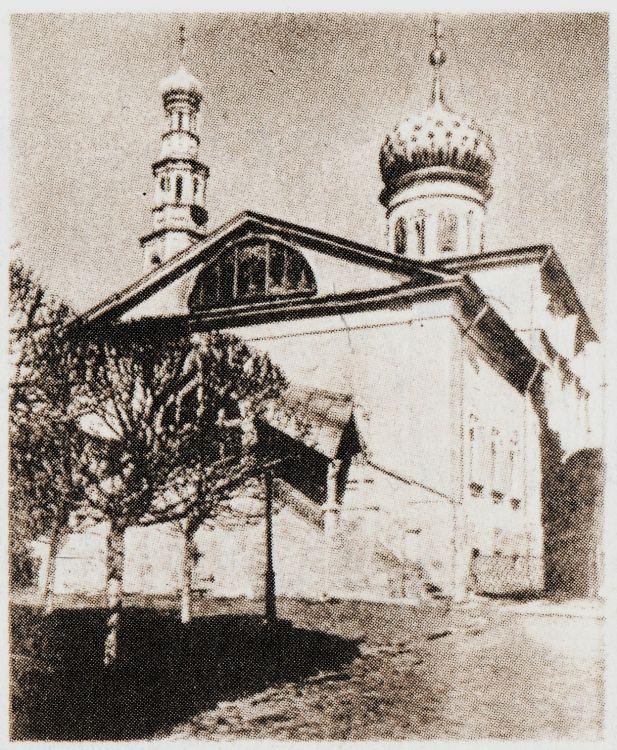 Николо-Угрешский монастырь. Собор Николая Чудотворца (утраченный), Дзержинский