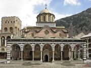 Рильский монастырь. Церковь Рождества Пресвятой Богородицы - Рилски-Манастир - Кюстендилская область - Болгария