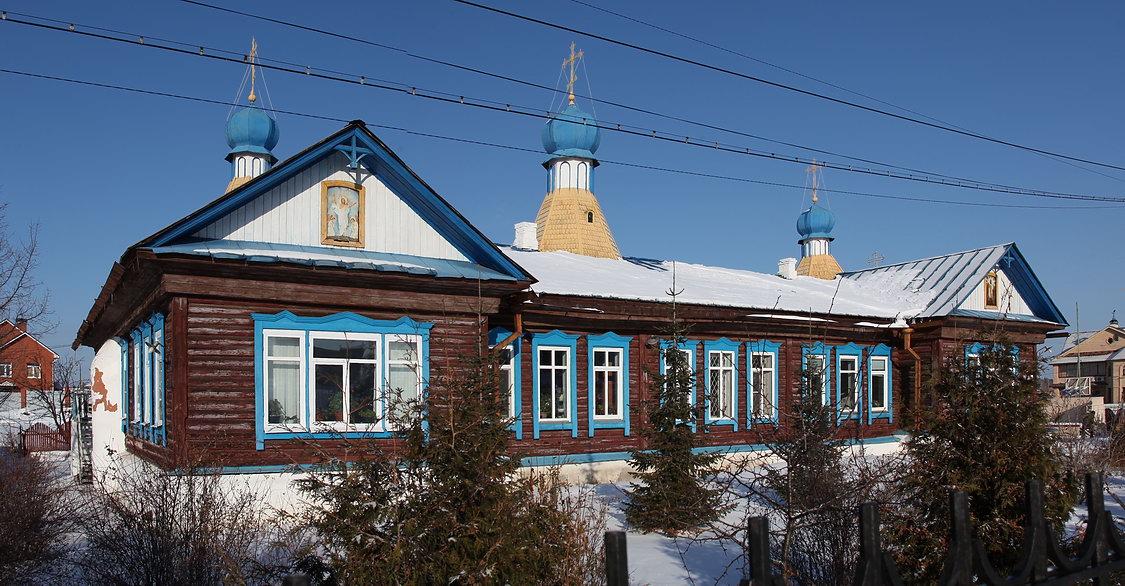 Церковь Спаса Преображения (деревянная), Чебаркуль