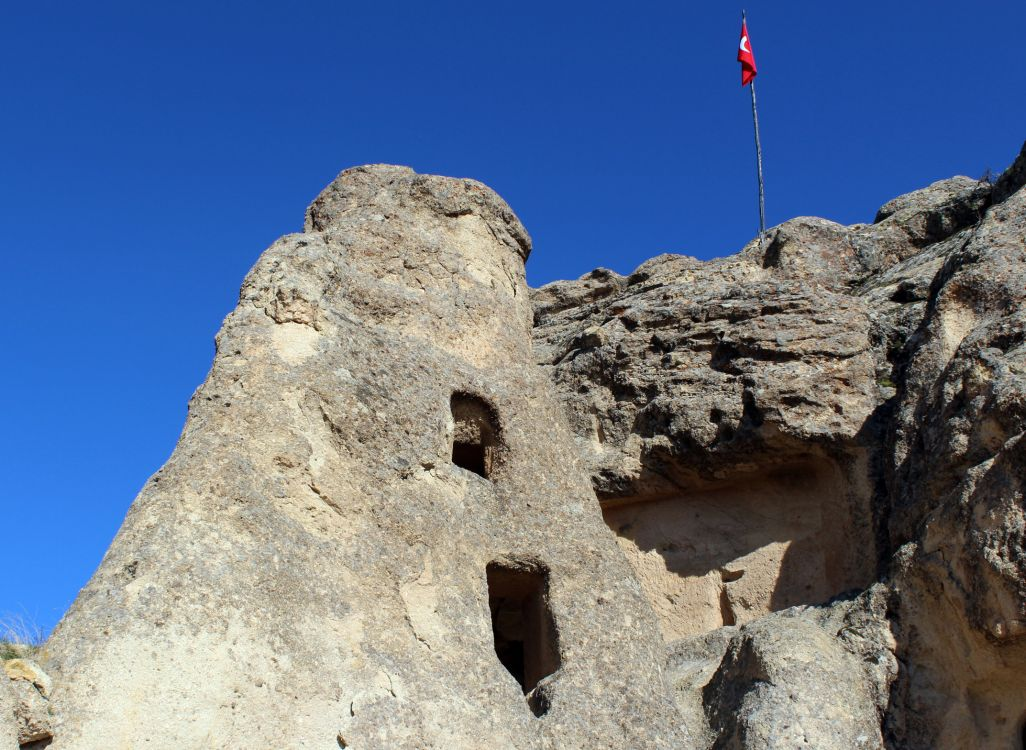 Турция, Невшехир, Ургюп. Монастырь Панджарлык, фотография. архитектурные детали