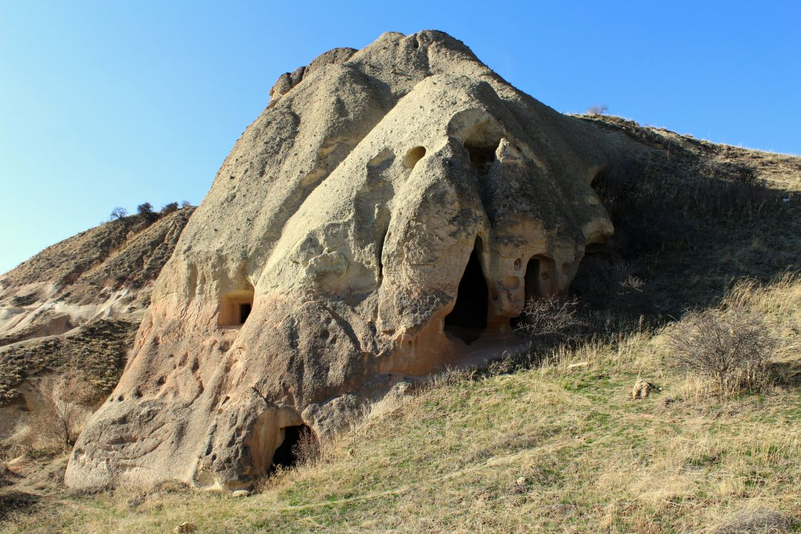 Турция, Невшехир, Ургюп. Монастырь Панджарлык, фотография. фасады