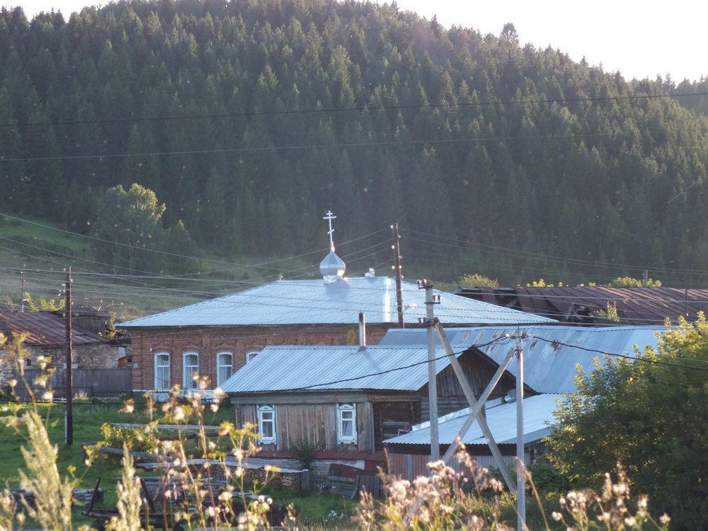 Церковь Воздвижения Креста Господня, Нижнеиргинское
