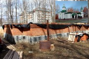 Церковь Иверской иконы Божией Матери (строящаяся) при городской больнице - Йошкар-Ола - Йошкар-Ола, город - Республика Марий Эл