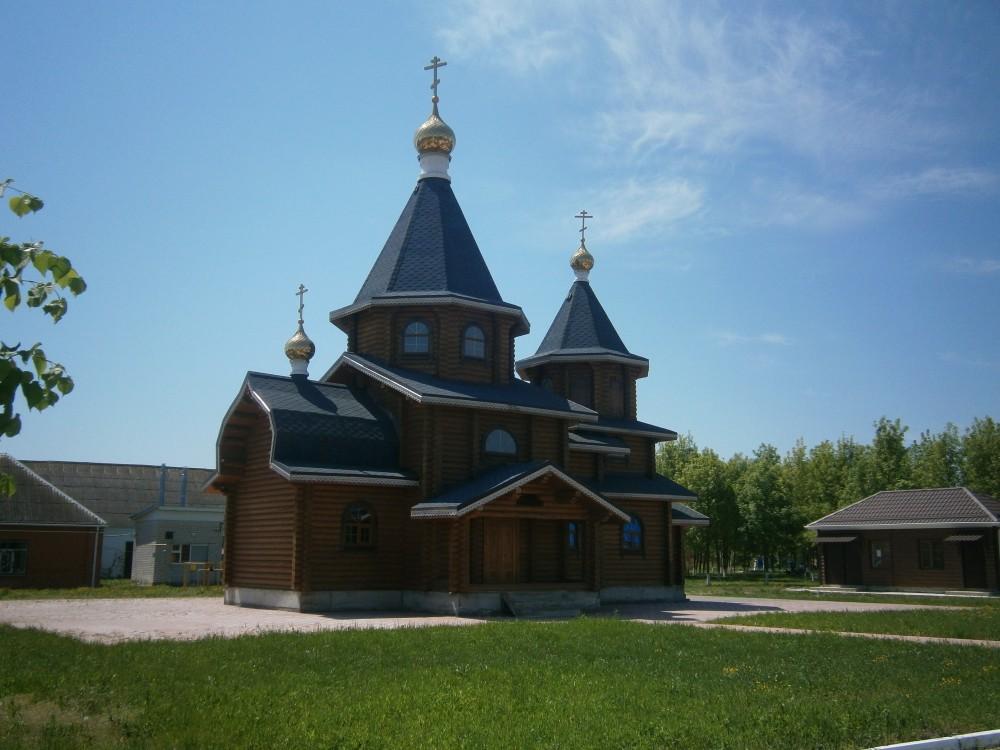 Краснодарский край, Белореченский район, Дружный. Церковь Серафима Саровского, фотография. фасады