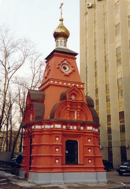 Скорбященский женский монастырь. Часовня над могилой инокини Рафаилы, Москва