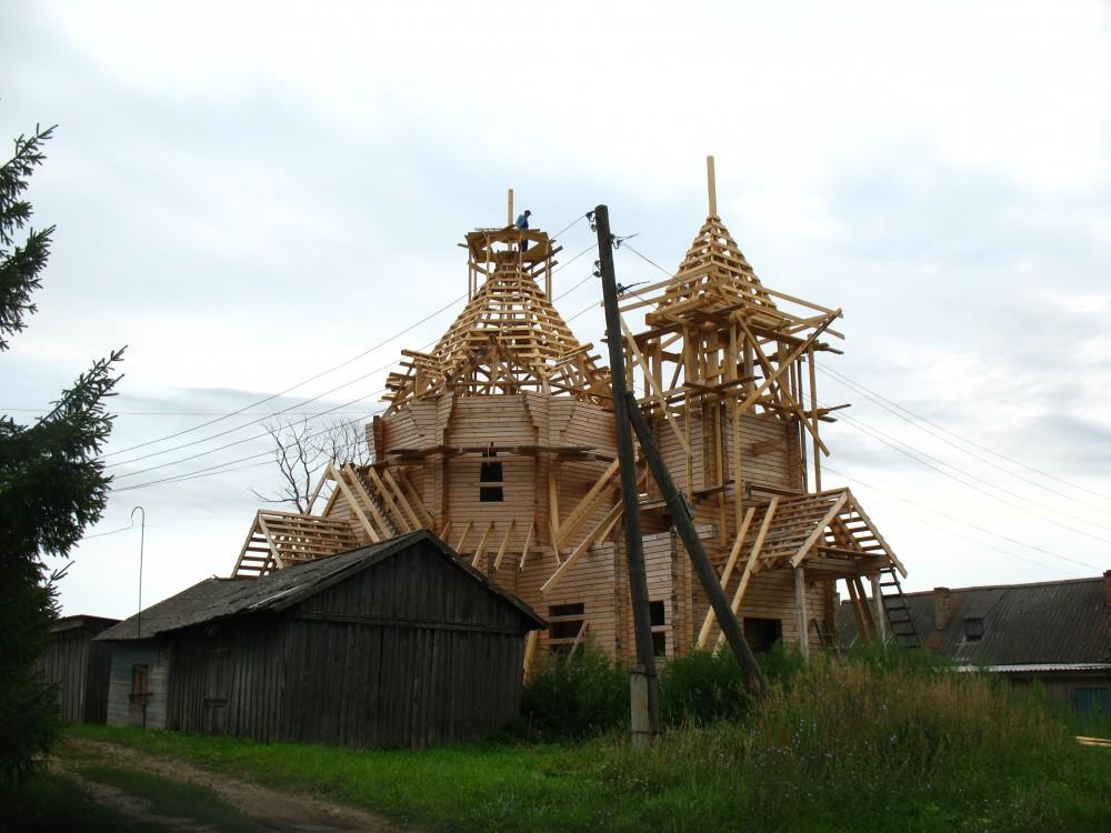 Церковь Троицы Живоначальной (строящаяся), Кырчаны