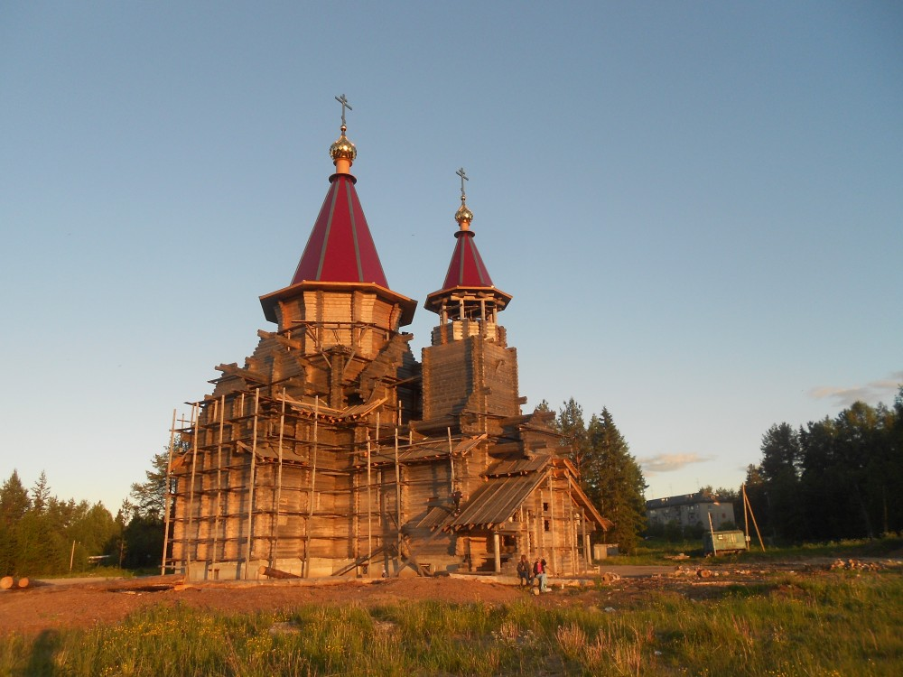 Церковь Воздвижения Креста Господня (строящаяся), Савинский