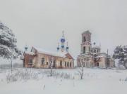 Микшино. Храмовый комплекс. Церкви Сретения Господня и Троицы Живоначальной