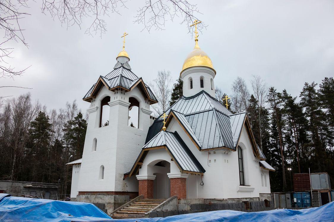 Церковь Георгия Победоносца в Красавице, Санкт-Петербург