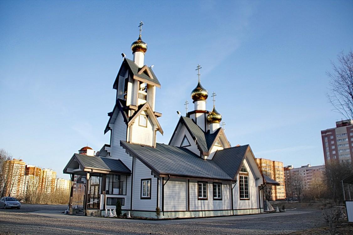 Церковь Сергия Радонежского и всех святых Земли Вологодской, Череповец