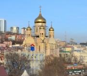 Владивосток. Спаса Преображения (строящийся), кафедральный собор