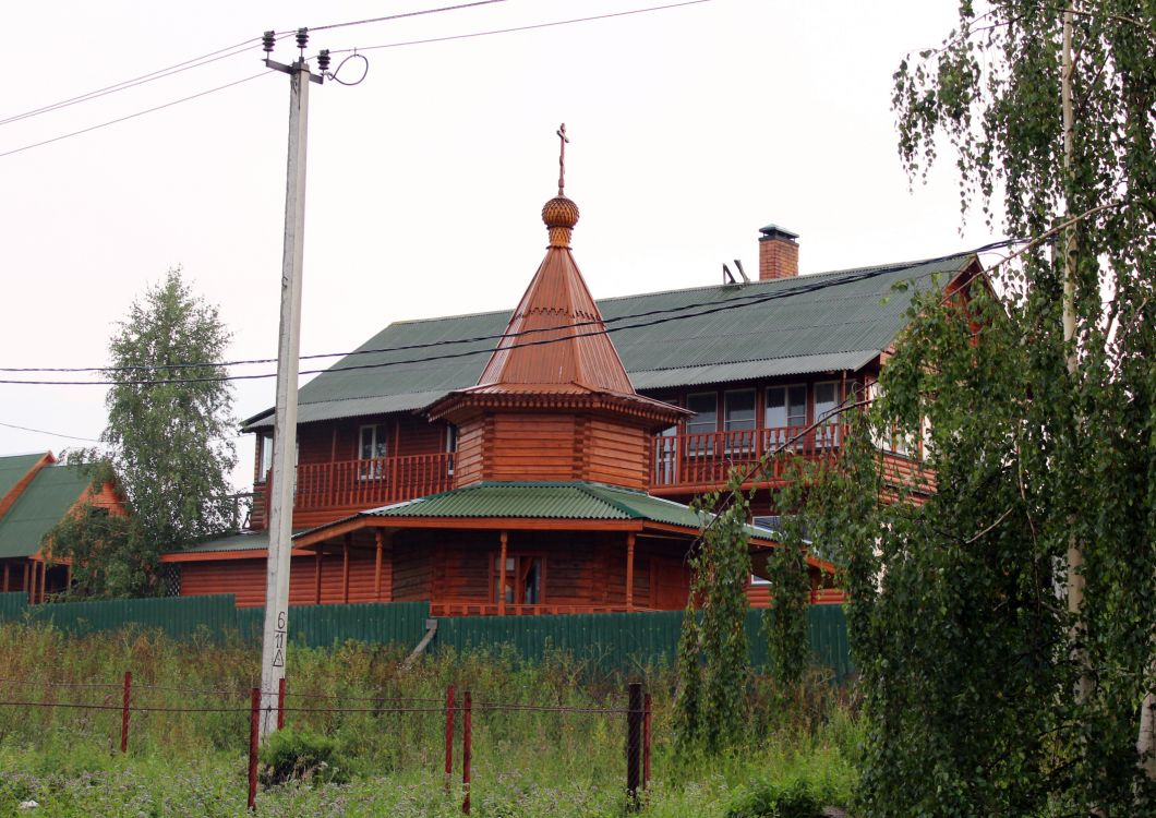 Московская область, Сергиево-Посадский городской округ, Бужаниново. Неизвестная часовня, фотография. фасады