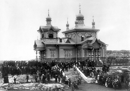 Церковь Николая Чудотворца (старая), Полярный