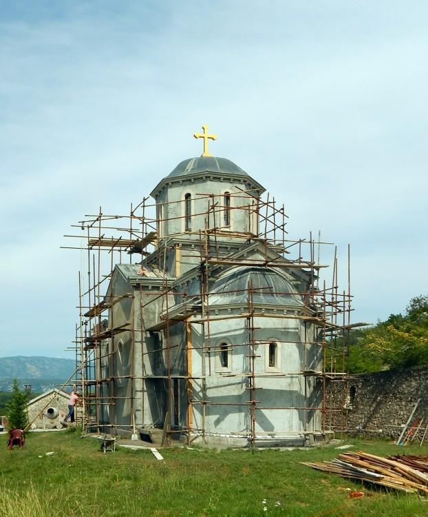 Монастырь Димитрия Солунского. Церковь Георгия Победоносца, Даниловград