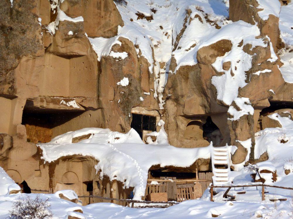 Турция, Невшехир, Гёреме. Монастырь, фотография. архитектурные детали