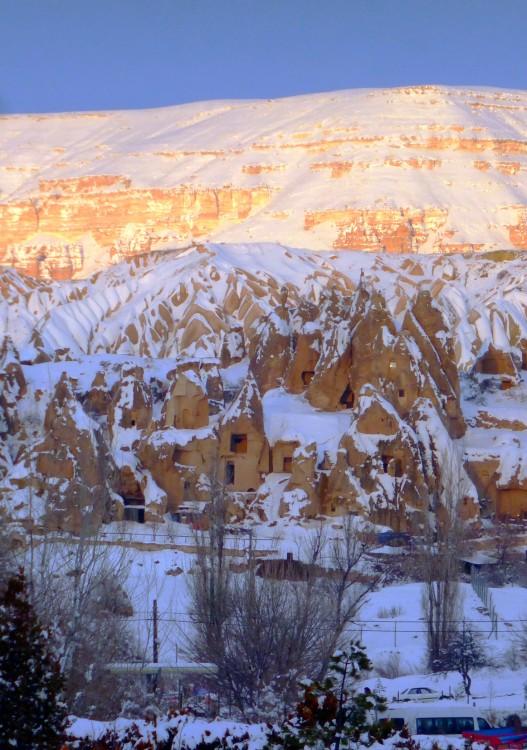 Турция, Невшехир, Гёреме. Монастырь, фотография. фасады