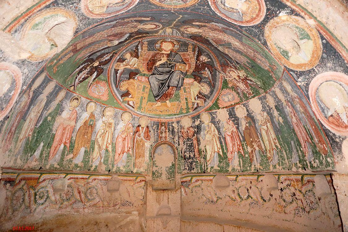 Неизвестная церковь, Гёреме