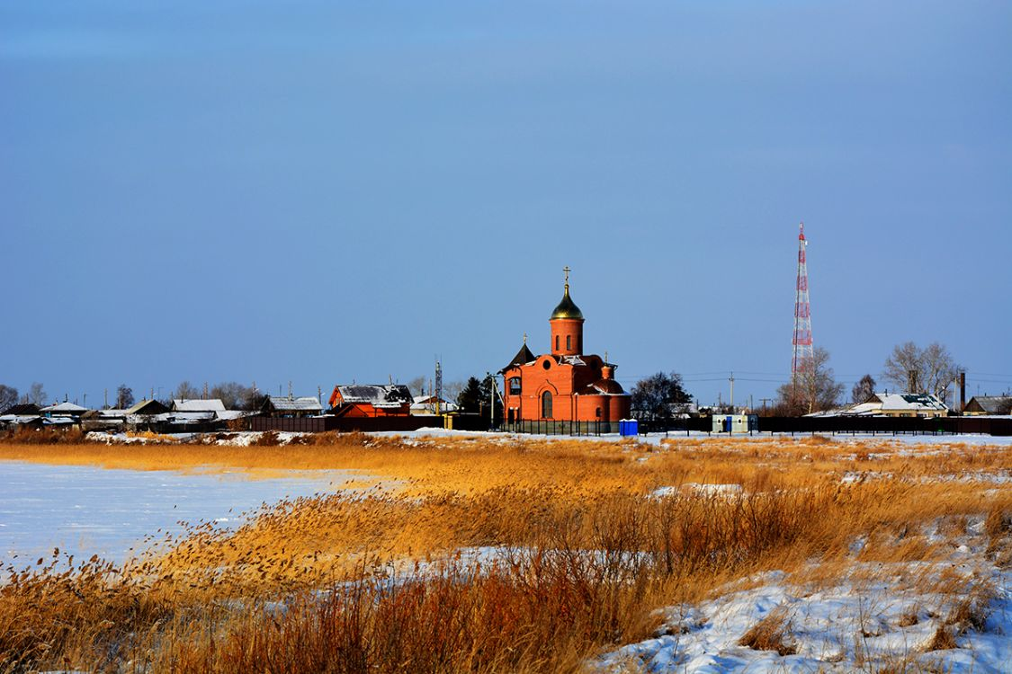 Церковь Троицы Живоначальной (новая), Песчанотаволжанское