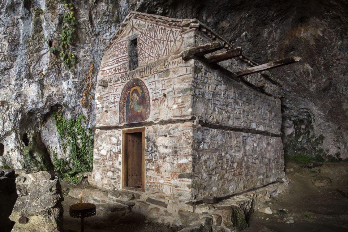 Греция, Эпир и Западная Македония, Псарадес. Церковь Петра апостола, фотография. фасады