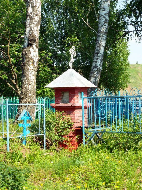 Республика Татарстан, Мамадышский район, Никифорово. Часовенный столб, фотография. фасады