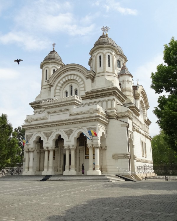 Румыния, Галац, Галац. Кафедральный собор Андрея Первозванного, фотография. фасады