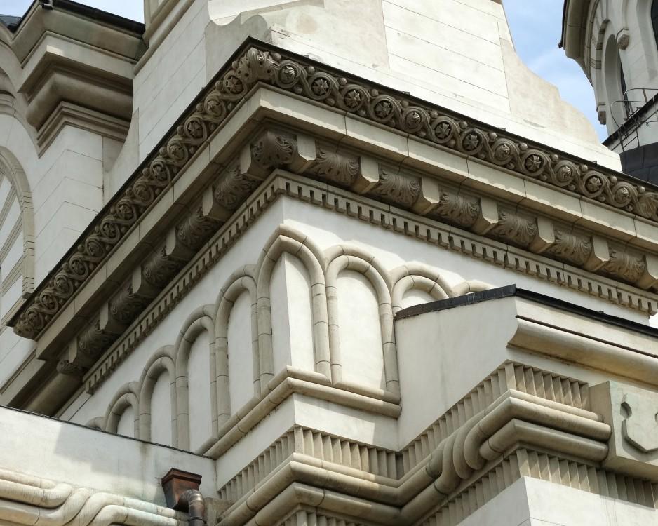 Румыния, Галац, Галац. Кафедральный собор Андрея Первозванного, фотография. архитектурные детали