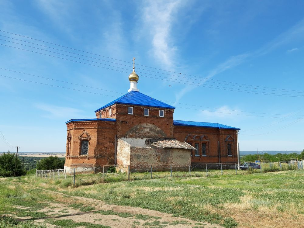 Церковь Покрова Пресвятой Богородицы, Ещеулов