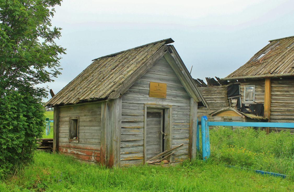 Архангельская область, Мезенский район, Совполье. Неизвестная часовня, фотография. фасады